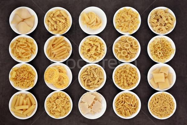 Large Pasta Sampler Stock photo © marilyna