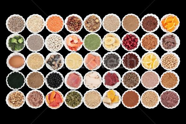 健康 食品 ボディービル 高い タンパク質 ストックフォト © marilyna