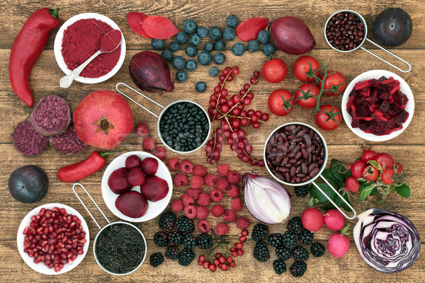 Health Food High in Anthocyanins Stock photo © marilyna