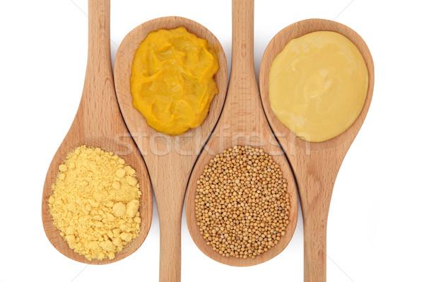 Mustard Selection Stock photo © marilyna