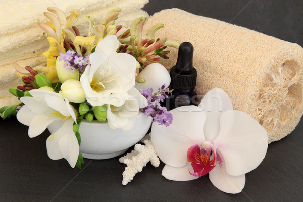 Floral Spa Treatment Stock photo © marilyna