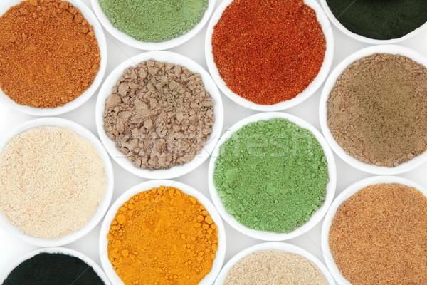 Health Food Powders Stock photo © marilyna