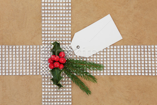 Christmas Gift Wrapping Stock photo © marilyna