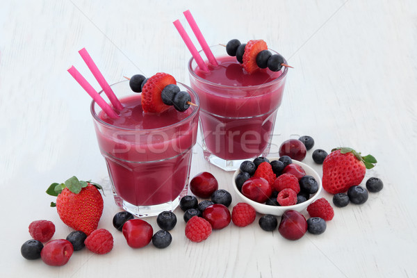 Superfood Smoothie Health Drinks Stock photo © marilyna