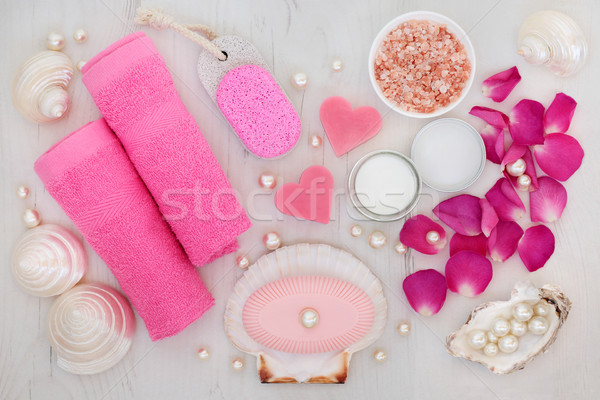 Bathroom and Spa  Beauty Treatment Stock photo © marilyna