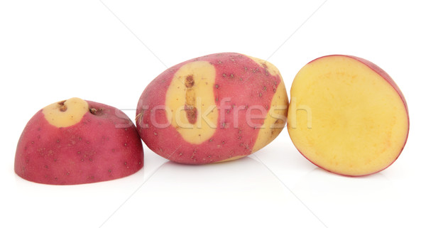 Apache Potatoes Stock photo © marilyna