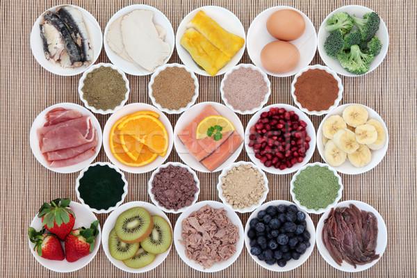 ボディービル ダイエット 食品 健康 高い タンパク質 ストックフォト © marilyna