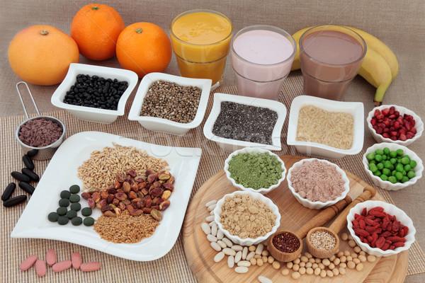 健康 栄養 ボディ ビルダー ボディービル 高い ストックフォト © marilyna