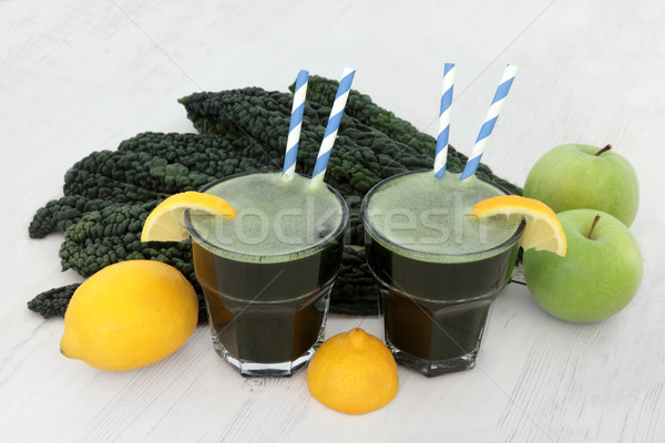 Kale Health Drink Stock photo © marilyna