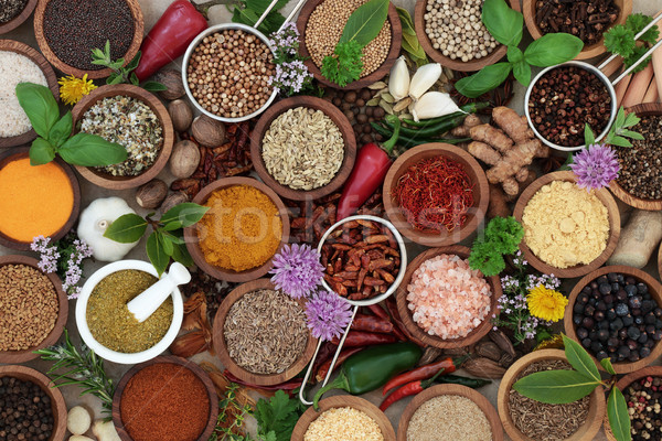 Stock photo: Herb and Spice Seasoning