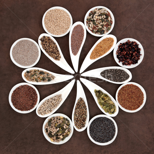 Seed Food Sampler Stock photo © marilyna