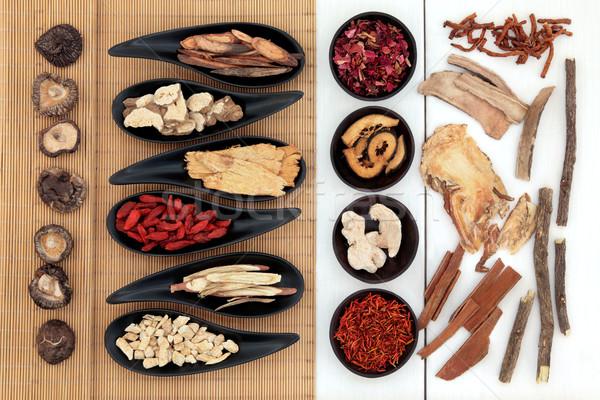 Chinese Medicinal Herbs Stock photo © marilyna