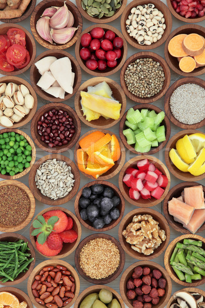Super Food Diet Selection Stock photo © marilyna