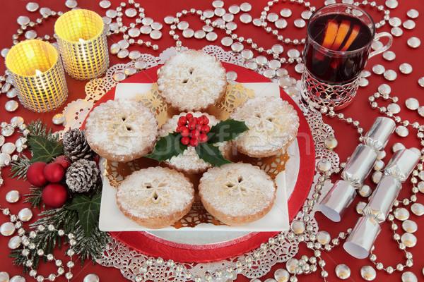 Christmas Party Still Life Stock photo © marilyna