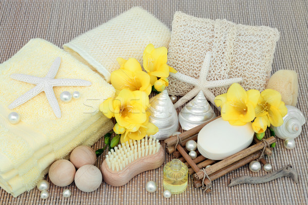 Spa Beauty Cleansing Products Stock photo © marilyna