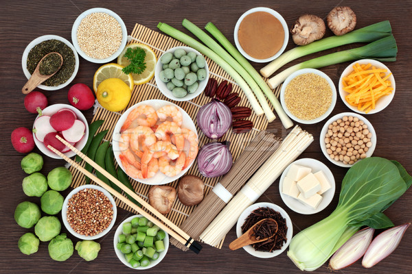 Japanese Macrobiotic Super Food Stock photo © marilyna
