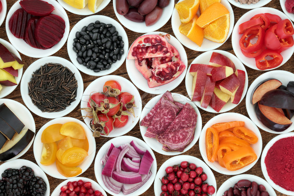 Anthocyanin Super Health Food Selection Stock photo © marilyna