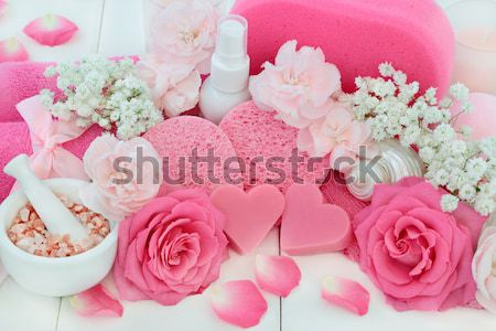 Spa and Bathroom Beauty Products Stock photo © marilyna