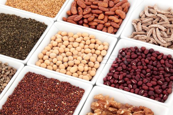 Сток-фото: супер · продовольствие · здорового · орехи · семян · зерновых