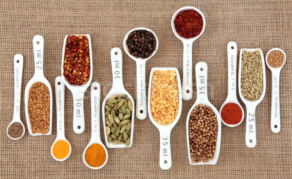 Spice Measurement Stock photo © marilyna