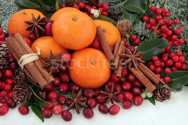 Christmas Fruit and Spice Stock photo © marilyna