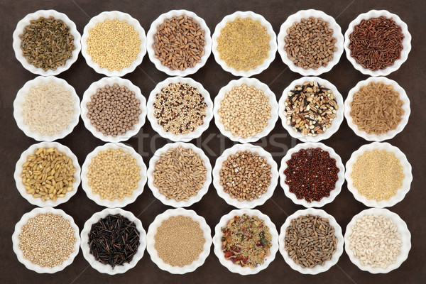健康 穀類 コーンフレーク 穀物 穀物 ストックフォト © marilyna