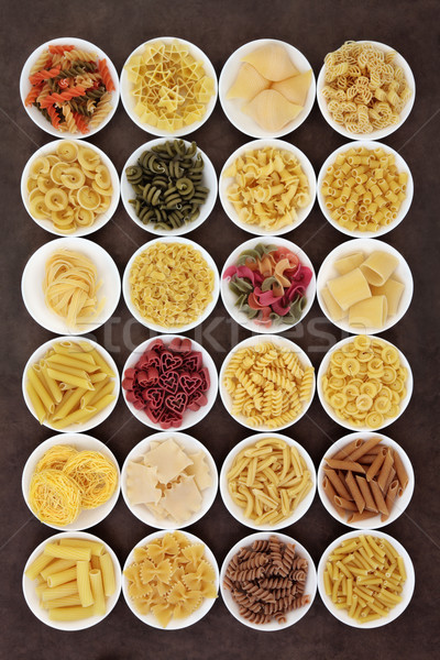 Large Pasta Collection Stock photo © marilyna