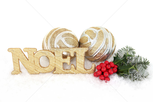 Noel Decorative Display Stock photo © marilyna