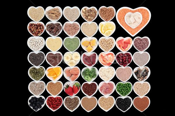 Eten gezonde voeding groot gezondheid hoog Stockfoto © marilyna