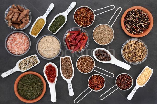 Essiccati erbe spezie erbe Spice alto Foto d'archivio © marilyna