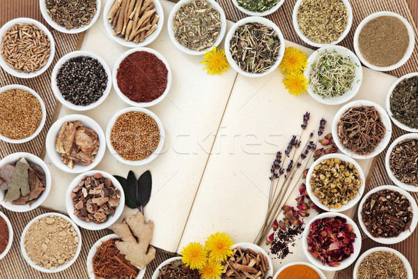 Womens Herbal Health  Stock photo © marilyna