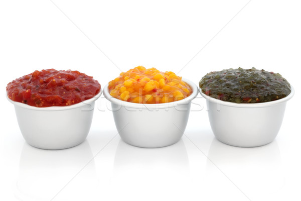 Relish Selection Stock photo © marilyna