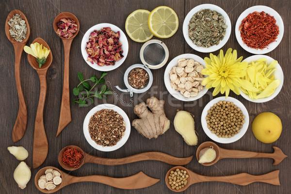 Medicinal Herb Teas Stock photo © marilyna