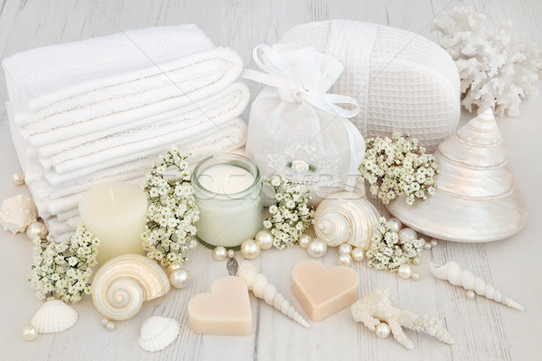 Bridal Spa Beauty Treatment  Stock photo © marilyna
