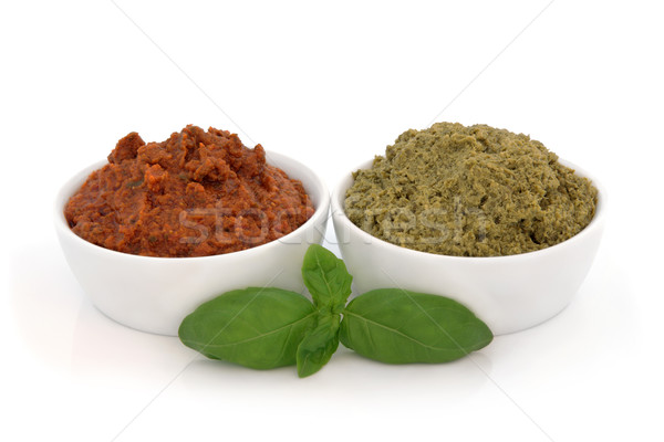 Pesto Varieties Stock photo © marilyna