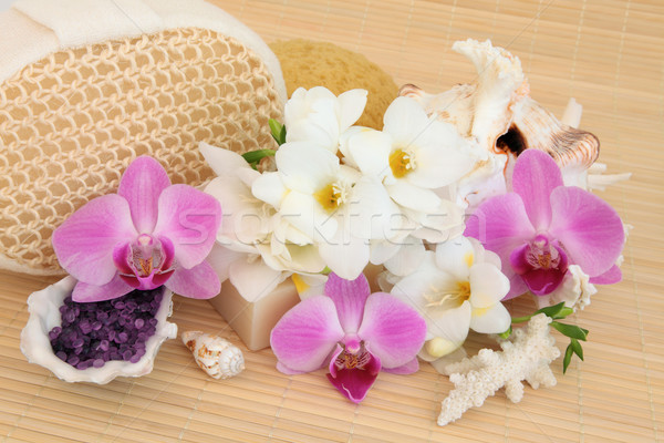 Flower Spa Treatment Stock photo © marilyna