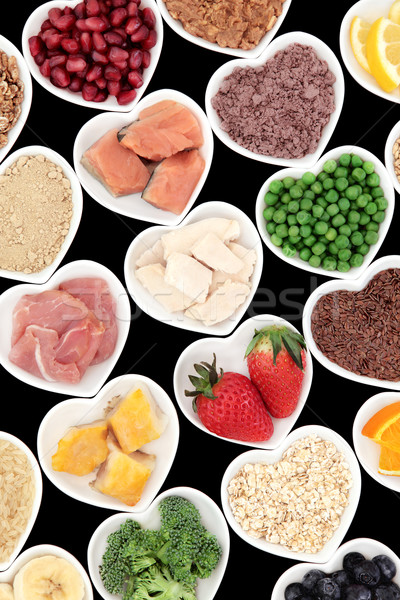 Body Building Foods Stock photo © marilyna