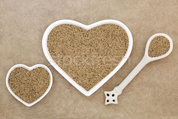 супер зерна здоровья продовольствие сердце Сток-фото © marilyna