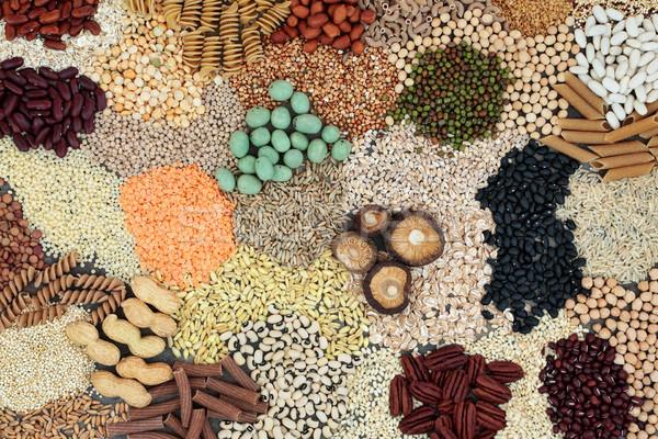 Dieta alimentare cereali semi Foto d'archivio © marilyna