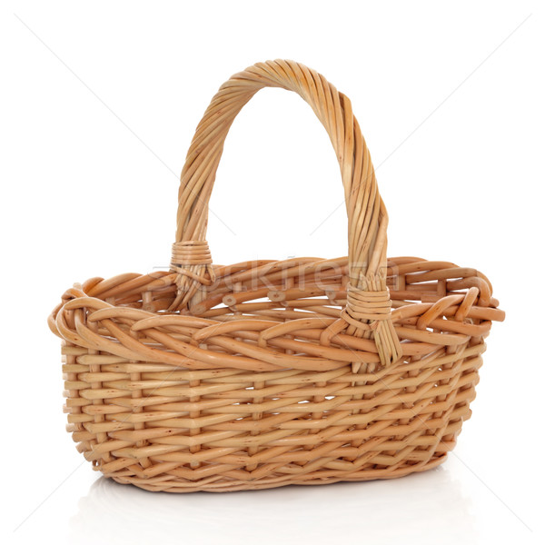 Wicker Basket Stock photo © marilyna