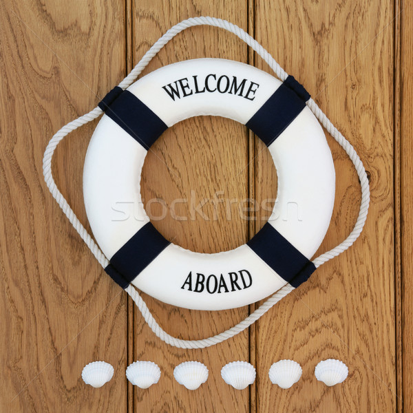 Welcome Aboard Stock photo © marilyna