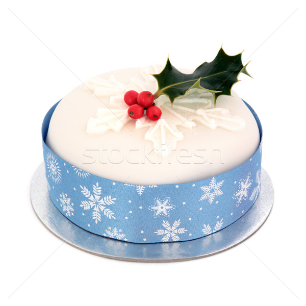 Christmas Cake Stock photo © marilyna