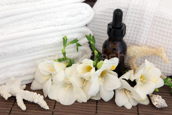 Aromaterapia trattamento termale spa fiore fiore Foto d'archivio © marilyna