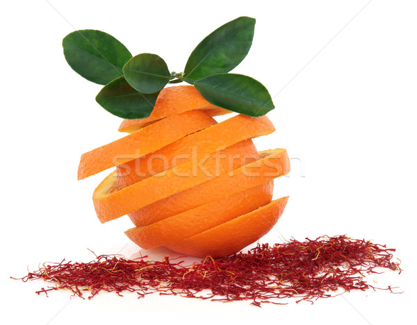 Saffron and Orange Fruit Stock photo © marilyna