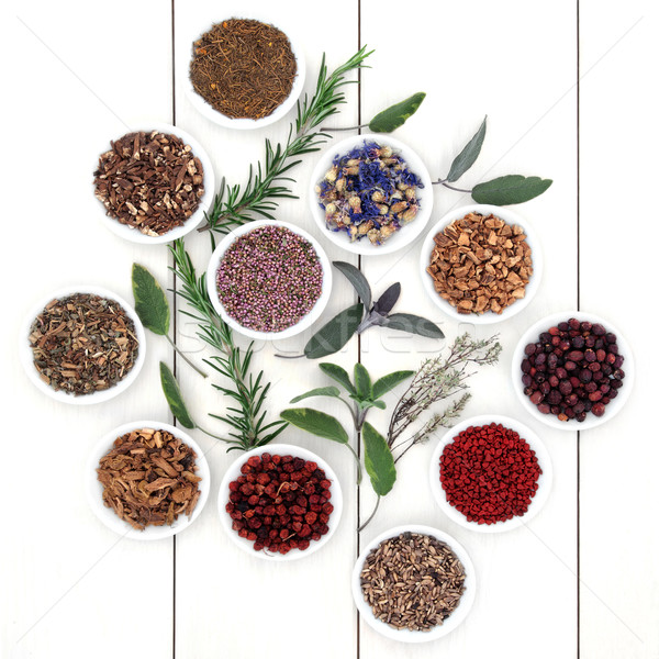 Herbal Medicine Stock photo © marilyna