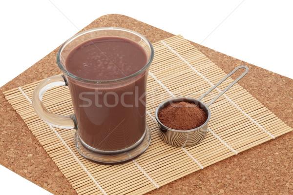 Chocolate Maca Health Drink Stock photo © marilyna