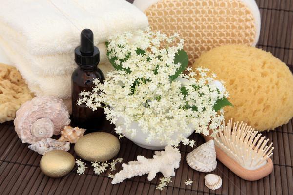 Elderflower Spa Treatment Stock photo © marilyna