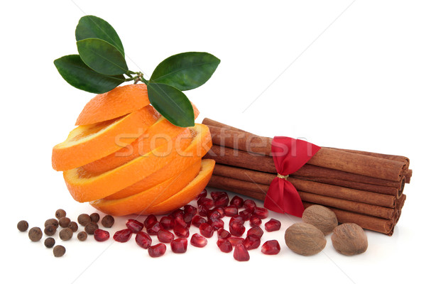 Spice and Fruit Seasoning Stock photo © marilyna
