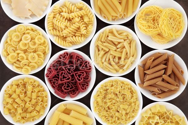 Italian Pasta Shapes Stock photo © marilyna