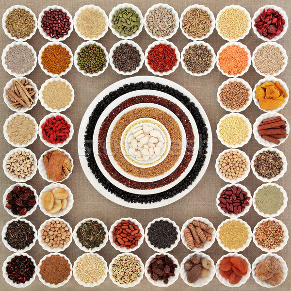 Dried Super Food Sampler   Stock photo © marilyna